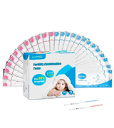 HOMIEE Fertility Comhination Tests Kit Bandelettes de Test D'ovulation
