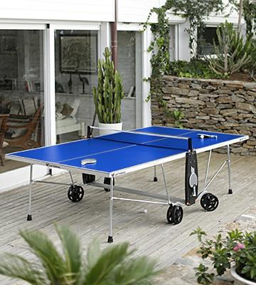 Test. Cornilleau Table de ping pong