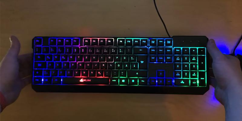 Test. KLIM Chroma Clavier Gamer