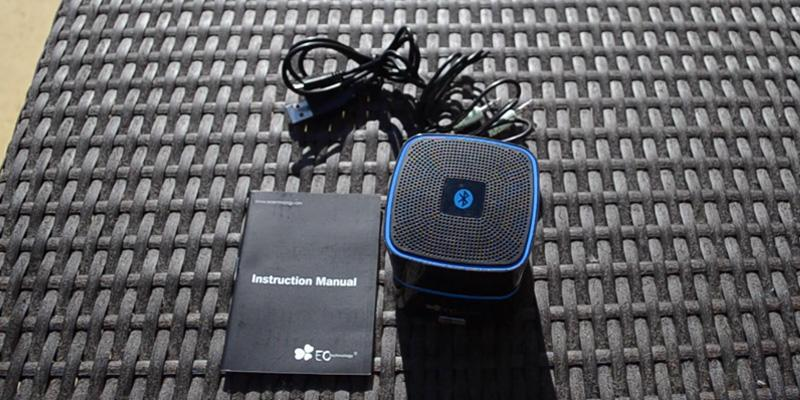 Test. EC Technology Enceinte Portable Bluetooth
