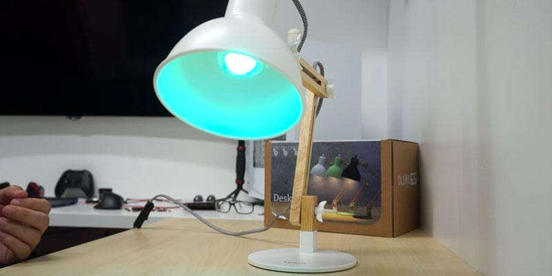 Test. Tomons Lampe de Table