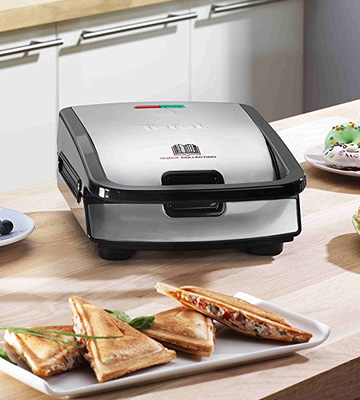 Test. Tefal SW853D12 Snack Collection