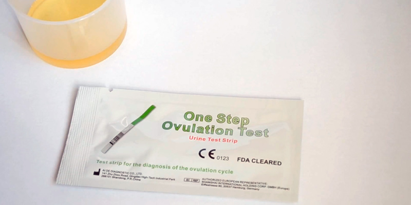 Test. One Step Test d'ovulation 40 x en bandelette (20mIU/ml)