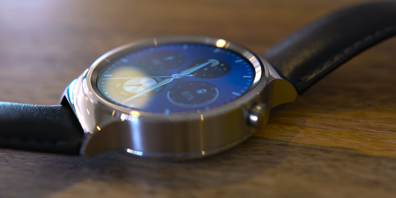 Huawei Watch Classic en usage