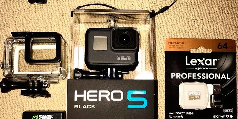 GoPro Hero5 Caméra d'action en usage